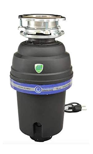 Mountain plumbing MT666-3CFWD3B - 3-Bolt Mount 3/4 HP Disposer