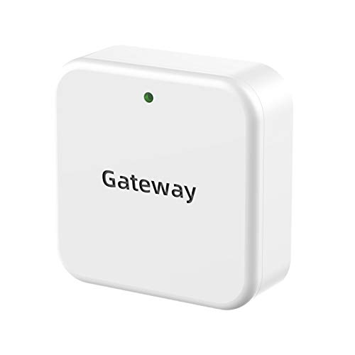 Gateway for Hornbill Smart Door Lock, Wi-Fi Gateway, Keyless Entry Electronic Smart Door Lock Wi-Fi Bridge, Remote Control Bluetooth Lock Works for TTLock App