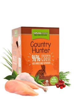 Natures Menu Country Hunter Cat Food Pouch Chicken & Goose 3 x (6 x 85g)