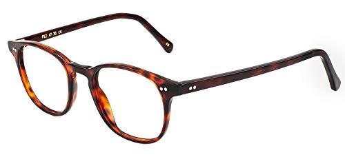 L.G.R Gafas de Vista FEZ Burgundy Havana 47/20/145 unisex