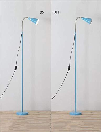 Brightz Lámpara de pie, Simple de pie luminarias de Protección de los Ojos del Hierro Creativo Moderno de Noche de pie luminarias for el Bulbo de la Sala Incluido, C (Color : E)