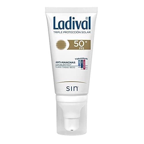 Ladival Crema solar facialacción anti-manchas con deléntigo toque seco - 50ml