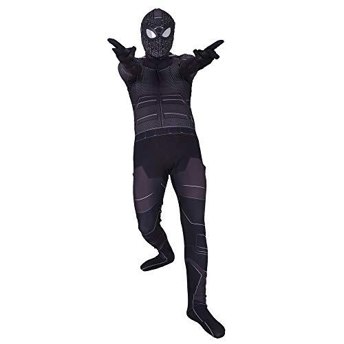 Disfraz de Spiderman Negro para Regreso a casa para nios Disfraz de Halloween para nios El superhroe de Los Vengadores, Disfraz de Adulto