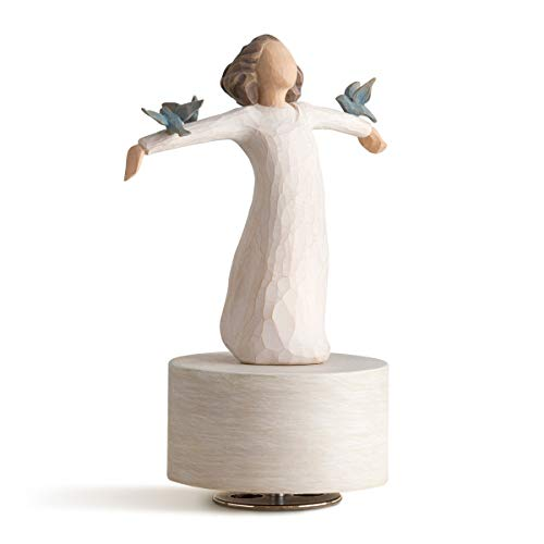 Willow Tree Happiness Musical, Sculpted Hand-Painted Musical Figure
