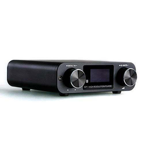Review SMSL DP1 3 in 1 HiFi Digital Player Turntable Audio DAC with Built-in Headphone Amplifier
