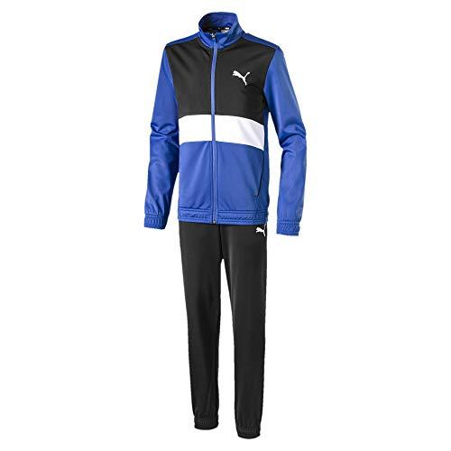 PUMA Jungen Poly cl B Trainingsanzug, Galaxy Blue, 152