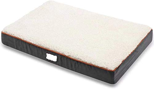 Asvin-Memory-Foam-Dog-Bed-for-Medium-Large-Extra-Large-Dogs-Sherpa-Orthopedic-Calming-Dog-Bed-2-Layer-Thick-Dog-Mattress-with-Removable-Washable-Cover-and-Waterproof-Lining