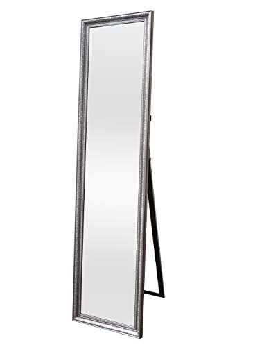 Spiegel Standspiegel KM-0240 50x175x6 cm Ganzkörperspiegel Wildeiche geölt