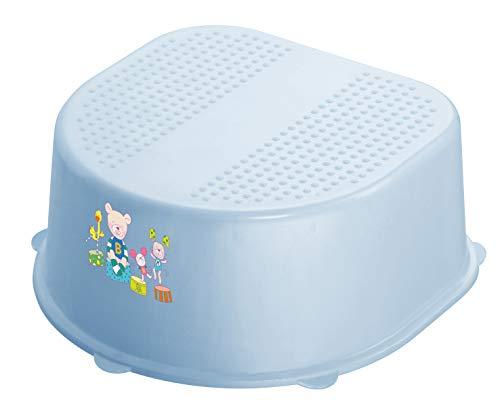 Rotho Babydesign 200240103AZ - Sgabello per bambini con superficie antiscivolo e piedi