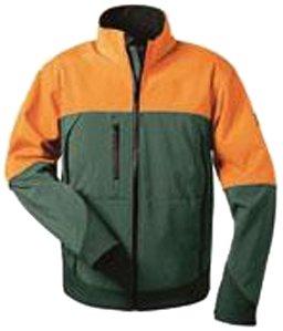 Feldtmann 22756/XL Softshell Jacke Sanddorn Größe XL grün/orange