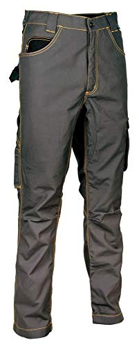 Cofra V171-0-04.Z50 Maastricht - Pantalones de Trabajo, Color Antracita/Negro, Talla Z50