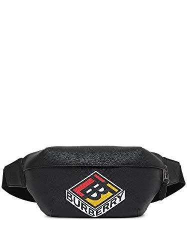 Luxury Fashion | Burberry Heren 8022534 Zwart Leer Heuptas | Lente-zomer 20