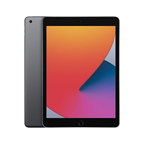 2020 Apple iPad (10.2-inch, Wi-Fi, 128GB) - Space Gray (8th Generation)