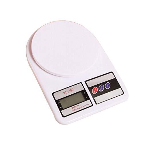 DEF Escala de Alimentos de Cocina Digital con Pantalla LCD 1g de Alta precisión, cocción Herramienta de pesaje de Comida al Horno con función de Tara (tamaño : 22lb)