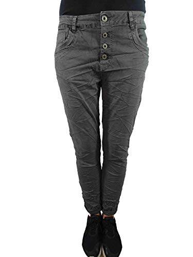 Karostar by Lexxury Jeans Boyfriend Donna Grigio 54