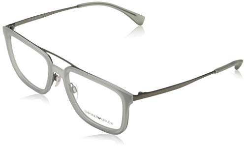 Emporio Armani 0EA1073 Monturas de gafas, Matte Gunmetal, 54 para Hombre