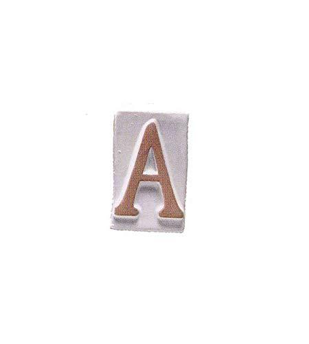 installazione adesiva numero 1 acciaio inox AISI 304 portale o garage 16 cm Numero civico esterno