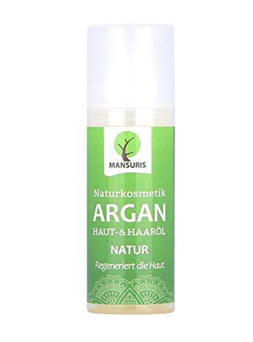 Bio Argan Körperöl & Haaröl duftneutral - Arganöl kaltgepresst für Haare,...