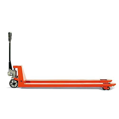 Certeo | Palettenwagen | Tragfähigkeit 3000 kg | Hubwagen Gabelhubwagen Handhubwagen Palettenhubwagen