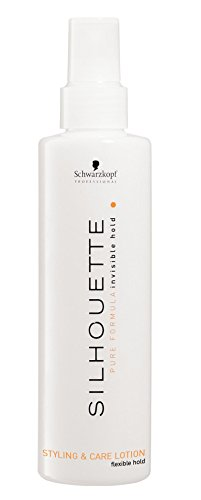 Schwarzkopf Silhouette Style and Care Lotion flexible hold, 200 ml, 1er Pack, (1x 200 ml)