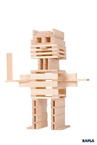 Kapla 100er Box Original Holz Bausteine Plättchen Klötze - 4