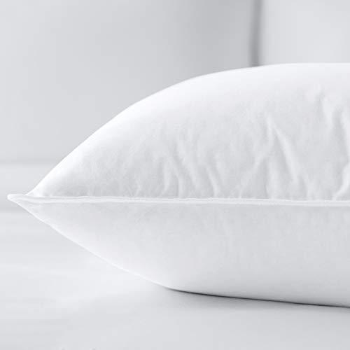 Bellazure Duo: Soft Back & Stomach Sleeper Pillow - Feather & Down Pillow Hotel & Resort...