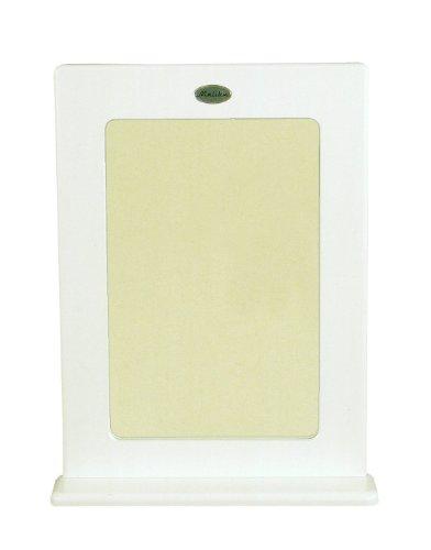Tenzo 5169-005 Malibu - designer spiegel 80 x 60 x 13 cm, MDF gelakt, wit