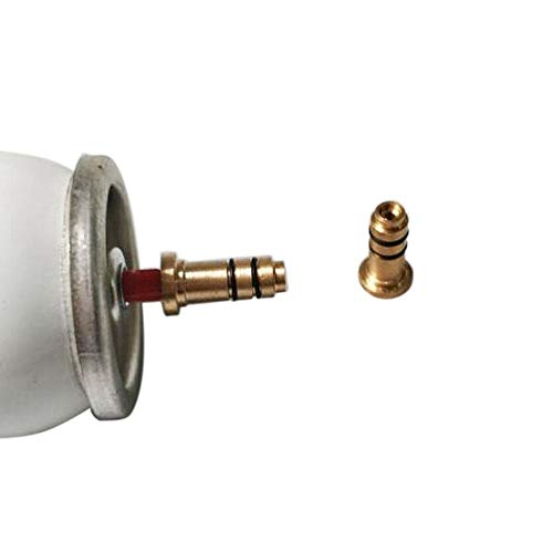 SMTHOME 1 stücke Butangas Refill Adapter für Kleid & Rollagas Serie Feuerzeug DIY Repair Tool