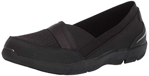 Skechers Damen Be-lux - Daylights Mary Jane Halbschuhe, Schwarz (Black Mesh/Durabuck/Trim BBK), 40 EU