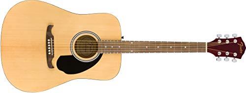 Fender FA-125 Dreadnaught - Diapasón de arce - Diapasón de nogal - con estuche