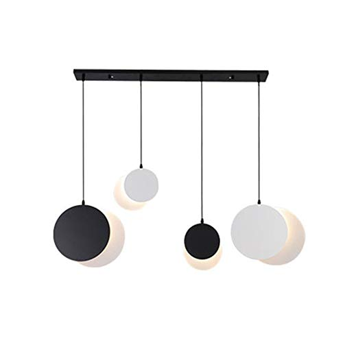 Generic002 Lámpara LED, luz moderno colgante decoración casera creativa, elegantes candelabros de cola de pez, accesorio de iluminación dormitorio