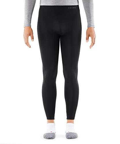 FALKE Funktionshose Tights Warm Funktionsmaterial Herren schwarz blau Atmungsaktive Unterwäsche zum Sport warm schnelltrocknend für milde bis kalte Temperaturen 1 Stück
