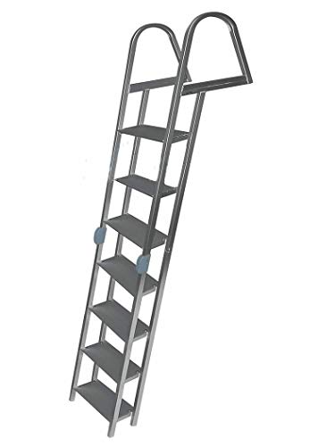JIF Marine 7-Step Folding Dock Ladder