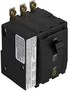 QOB3501021 Square D 3 Pole Bolt-on with 120 Volt Shunt Trip Thermal Magnetic Miniature Breaker 240-Volt 50-Amp QOB350-1021 50 Amp