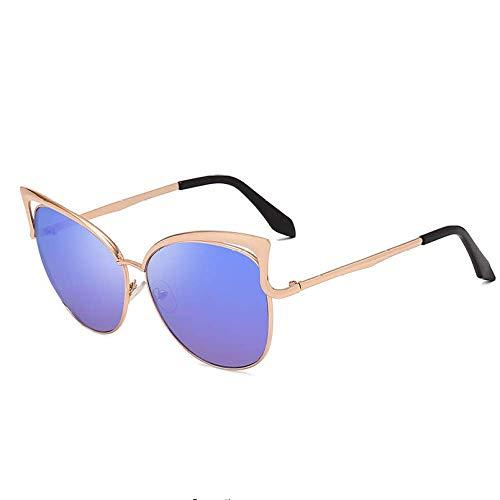 THJM Metal Personality Colorful Sunglasses Fashion Shade
