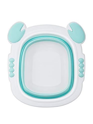 Alberta Faltbare Baby-Waschbecken faltbar Badewanne Faltbare Plastschuesselchen Tragbarer Badewanne Kinder-Wash Gesicht Fußdusche verdicken Tubs