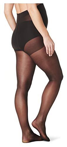Noppies - Medias premamá transparentes para mujer, talla 40/42 (M), color Negro 006