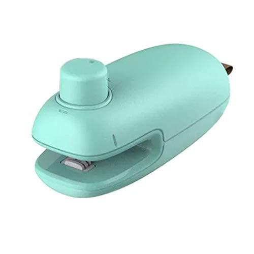 Xrten Mini sellador de Calor, selladora de Bolsas de plastico portátil para Comida y merienda Bolsa de Almacenamiento ect