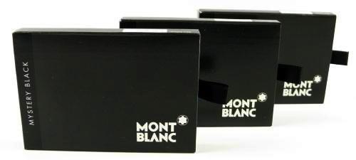 Montblanc Tintenpatronen Mystery Black (24 Stück)