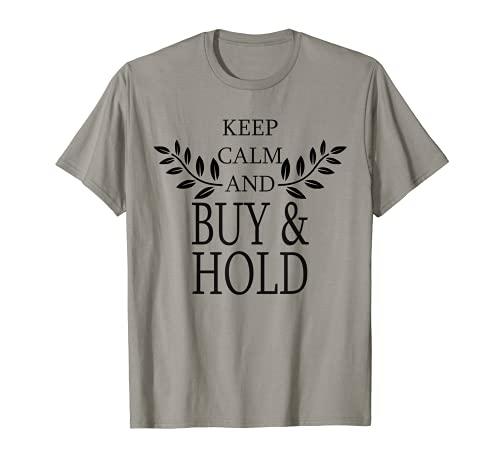 Keep calm and buy & hold passives Einkommen finanz Freiheit