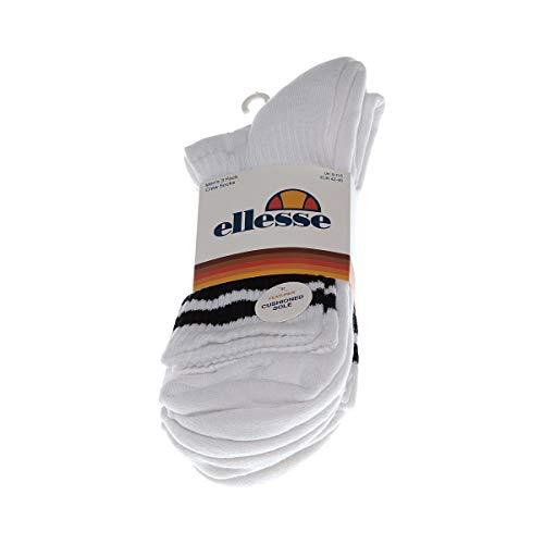 Ellesse Calcetines Pullo 3Pk Blanco 41-46 EU