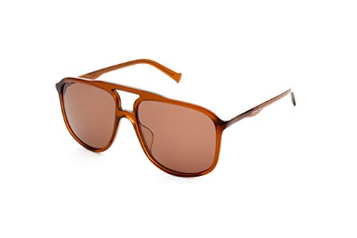 Replay RY614S02 Brille, braun, 57 16 145, Unisex, Erwachsene