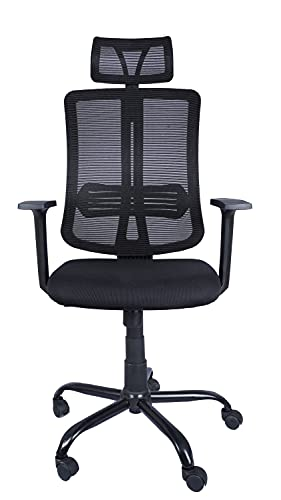 Casa Copenhagen, H11 Collection Ergonomic Extra Soft Desk Chair High Engineered Frame Durable and Adjustable Office Chair Modern GM Chair with Armrests Lumbar Support - Black 08