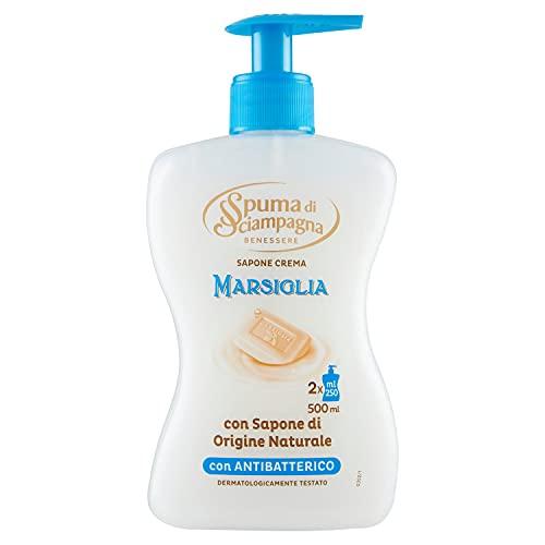 Spuma Di Sciampagna Sapone Liquido Mani Marsiglia - 500 Ml