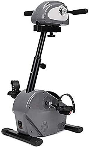NBLD Gimnasio en casa, Equipo de Refuerzo de circulación Ejercitador de Cuerpo Completo en casa Ejercitador de Pedal Sentado, Bicicleta estática y ejercitador de la Parte superio
