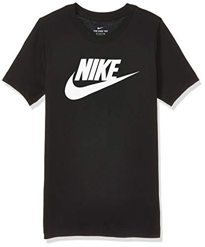 Nike Young Athletes, T-Shirt Uomo, Black/White, S