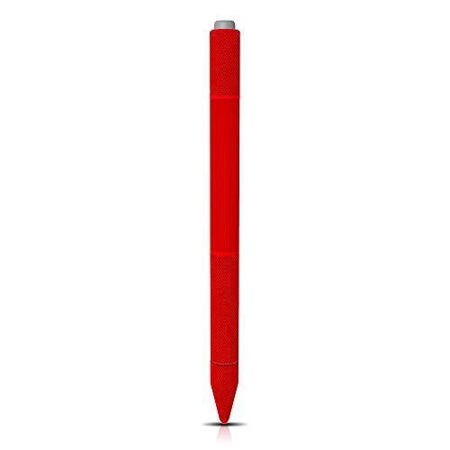 AWINNER Silikonhülle kompatibel mit Surface Stifthalter, Tasche Cover Zubehör für 2017 New Surface Stift, mit schützenden Federhüllen