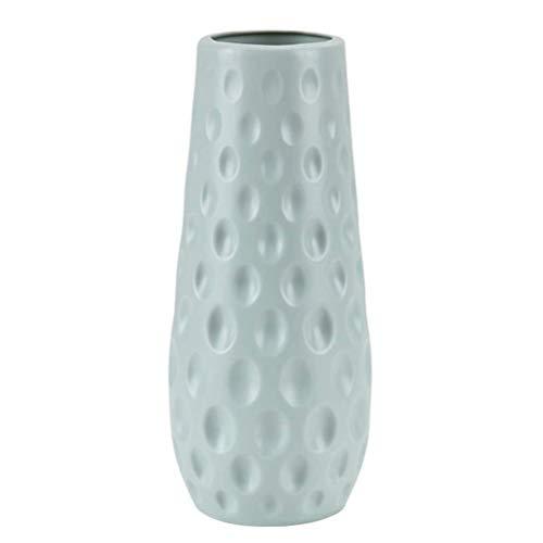 cheap4uk 1 Pieza Jarrón de plástico Estilo Granja Organizador de jarrones de Flores secas para Fiesta, hogar, Cocina, Oficina, Centro de Mesa