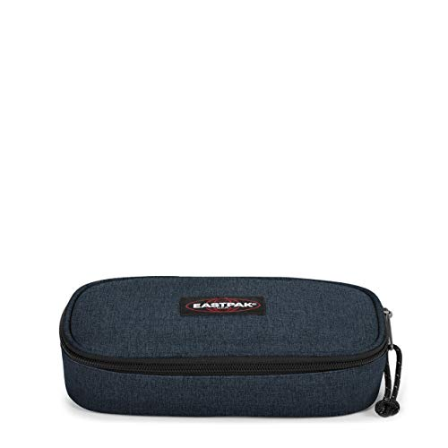 Eastpak Oval Single Federmäppchen, 22 cm, Blau (Triple Denim)