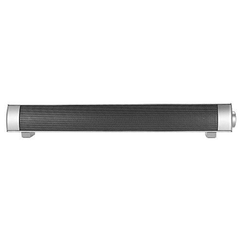 docooler BT Sound Bar BT Lautsprecher Home Theater Super Bass Subwoofer Freisprecheinrichtung unterstützt AUX IN TF-Karte Musik Play schwarz für TV PC Tablets Smartphones …